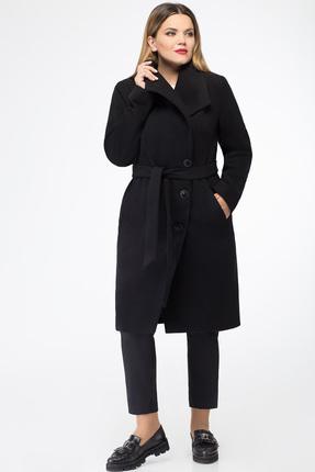 Пальто Дали 2192 черный