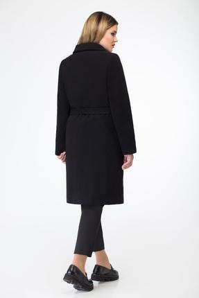 Фото 2 - Пальто Дали 2192 черный черного цвета