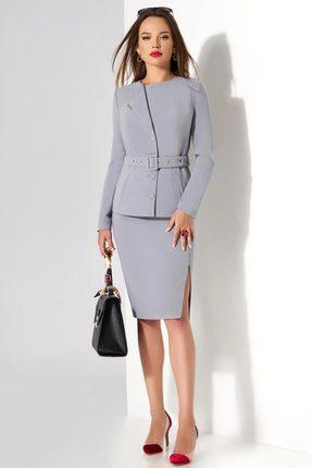 Купить со скидкой Комплект юбочный Lissana 3472 серый