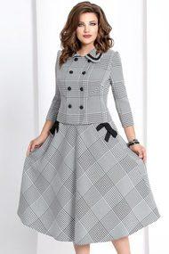 Комплект юбочный Vittoria Queen 4463/1 черно-белый