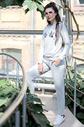 Купить Спортивный костюм PIRS 468 серый, Спортивные костюмы, 468, серый, Состав: 49% хлопок 48% нейлон 3 % спандекс, Мультисезон