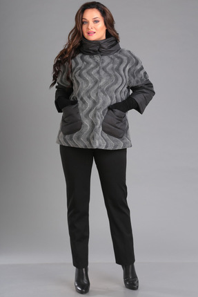 Куртка Ива 1032 серый