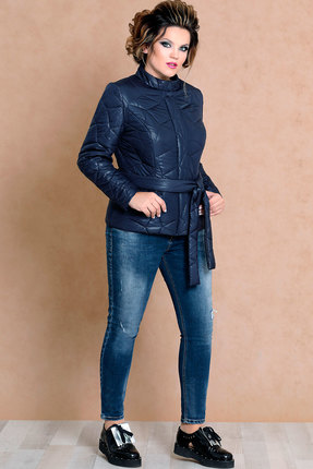 Куртка Mira Fashion 4487 тёмно-синий