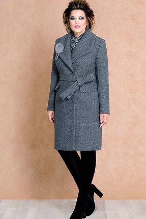 Купить Пальто Mira Fashion 4498 серый, Пальто, 4498, серый, ПЭ - 75% Шерсть - 25%, Мультисезон