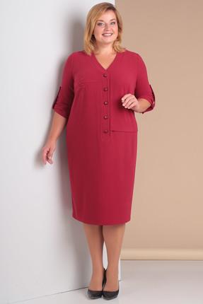 Купить Платье Новелла Шарм 3016 темно-розовые тона, Платья, 3016, темно-розовые тона, плательная ткань с люрексом, Мультисезон
