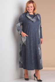 Платье Новелла Шарм 3079 серые тона