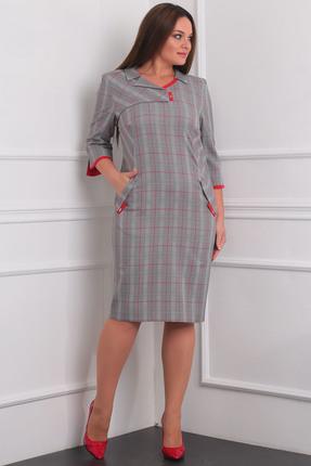Купить Платье Milana 941 серый, Платья, 941, серый, Материал платья: Костюмная со стрейчем. Состав: ПЭ-68%, вискоза-30%, спандекс-2%, Мультисезон