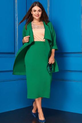 Комплект юбочный Anastasia 217 зеленый
