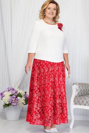 Купить со скидкой Комплект юбочный Ninele 2171 красный+белый