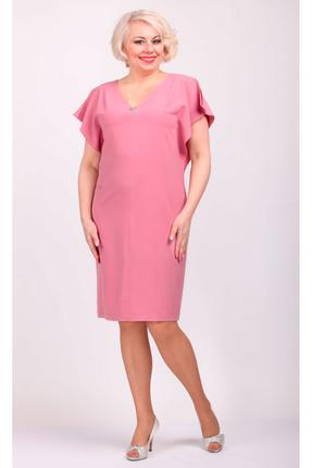 Купить Платье Camelia 1818 бледно-розовый, Платья, 1818, бледно-розовый, 88% полиэстер, 10% вискоза, 2% спандекс, Мультисезон