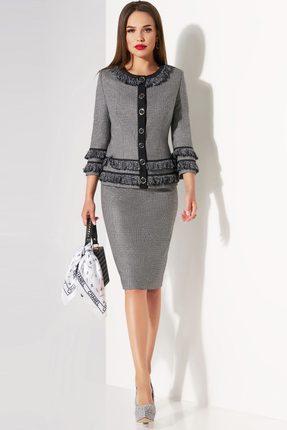 Комплект юбочный Lissana 3457 серый