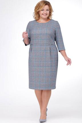 Купить Платье Bonna Image 16-192 серый, Платья, 16-192, серый, ПЭ 65%, Вискоза 32%, Спандекс 3%, Мультисезон