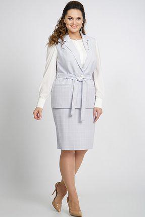 Комплект юбочный Alani 588 серый с молочным