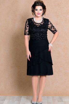 Купить Платье Mira Fashion 4502-2 чёрный, Вечерние платья, 4502-2, чёрный, ПЭ - 98% Спандекс - 2%, Мультисезон