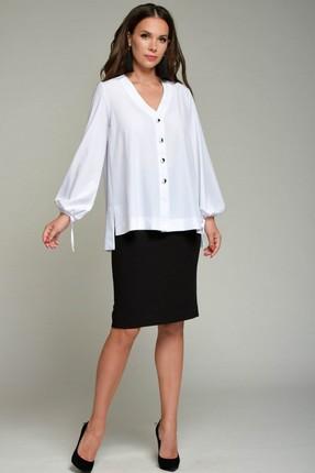Блузка Teffi style 1355 белый