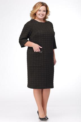 Купить Платье Michel Chic 909 черный, Платья, 909, черный, Состав: 60% полиэстер, 40% вискоза, Мультисезон