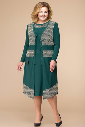 Купить со скидкой Комплект плательный Romanovich style 3-1261 зеленый