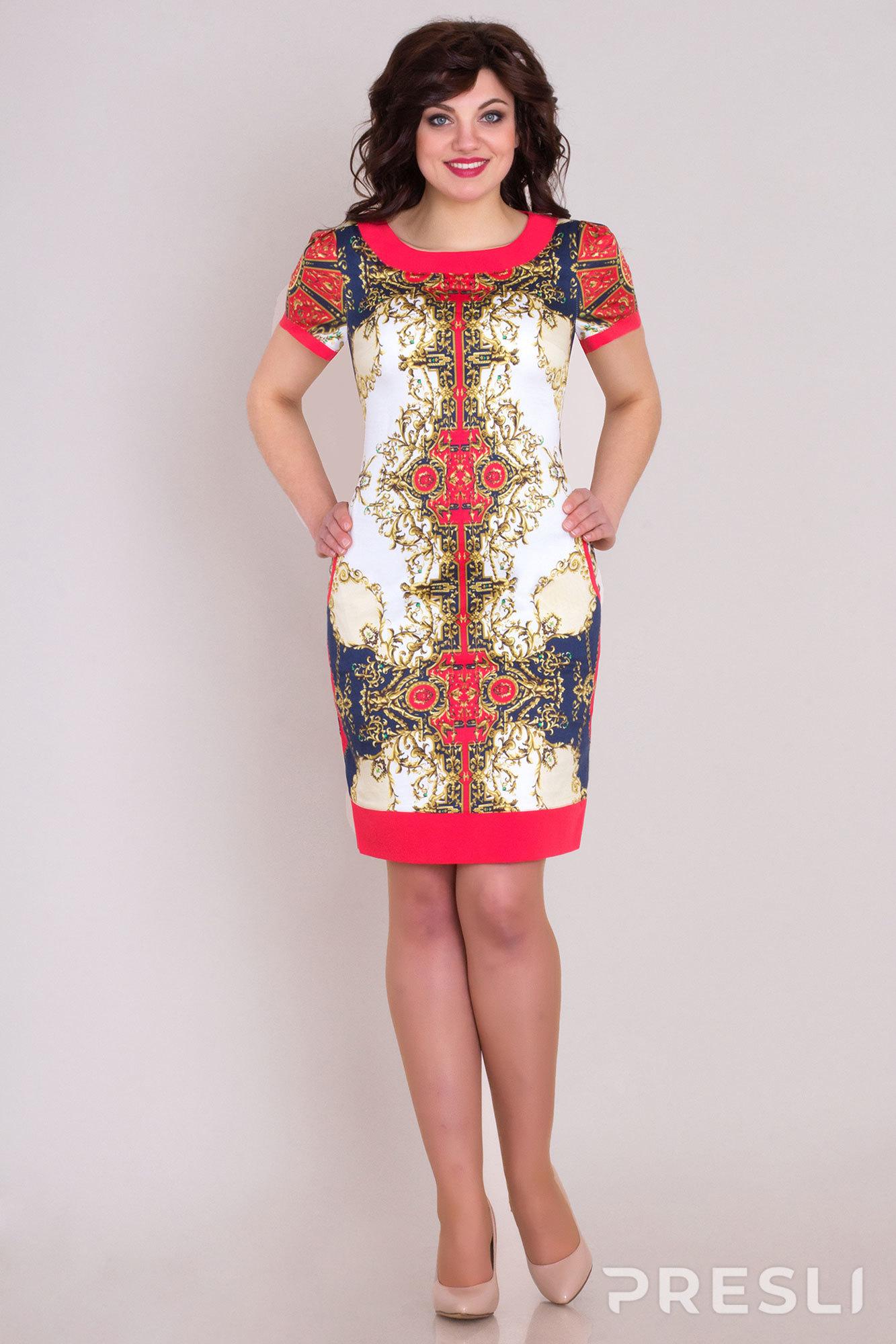 Платье Bonna Image 43 красные тона