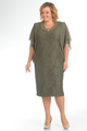 Платье Pretty 148 хаки, размер 52-62