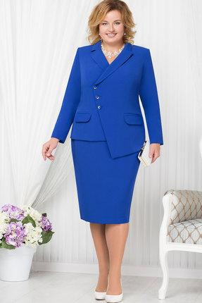 Купить Комплект юбочный Ninele 5662 василёк , Юбочные, 5662, василёк , Жакет - полиэстер 95%, спандекс 5%, подкладка ПЭ -100%, юбка - полиэстер 95%, подкладка - подкладка ПЭ -100%, Мультисезон