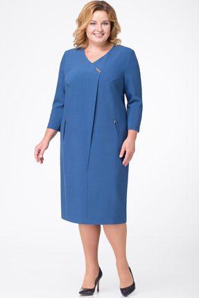 Платье Линия-Л Б-1681 синий