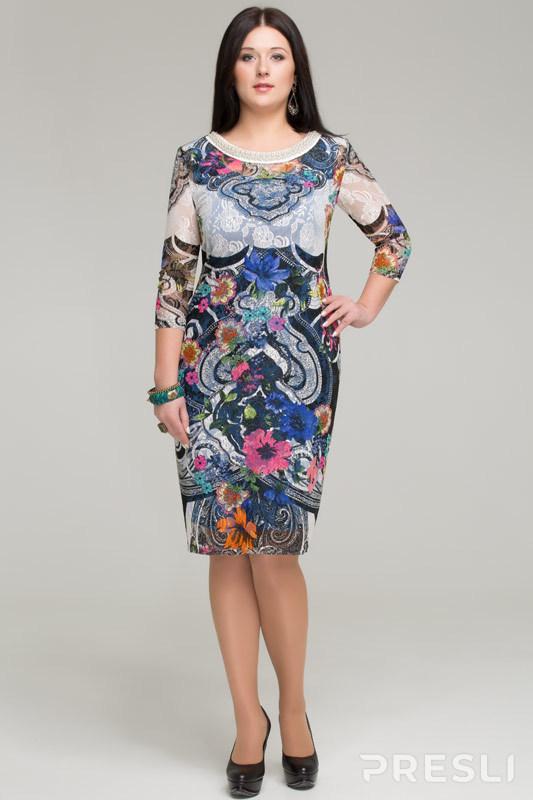 Платье Matini 1878 X цветной