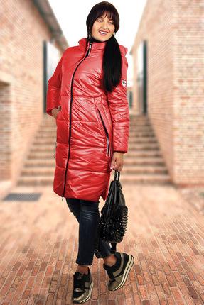 Купить Пальто Миа Мода 944-2 красный, Пальто, 944-2, красный, ПЭ 100%, утеплитель ISOSOFT Подкладка ПЭ 100%., Мультисезон