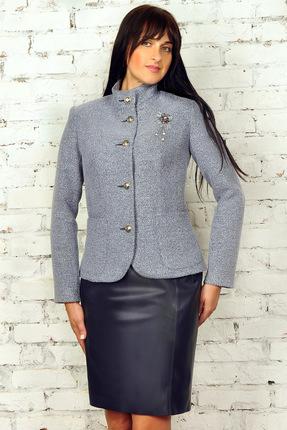 Комплект юбочный Миа Мода 953 серо-син