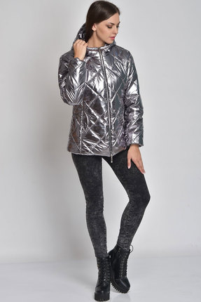 Куртка Elga 41-511 серебристый Elga