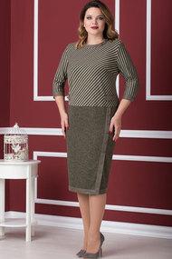 "Платье Nadin-N 1566 ""олива"""