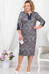 Платье Ninele 5674 серый