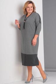 Платье Новелла Шарм 3110 серый