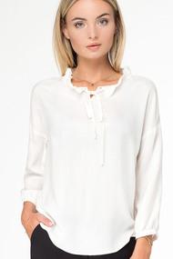 Блузка Prio 187040 молочный