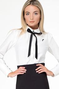 Блузка Prio 187640 белый