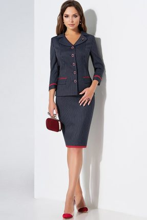 Комплект юбочный Lissana 3469 чернильный