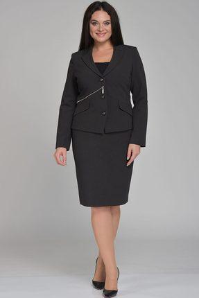 Купить Комплект юбочный Lady Style Classic 308 черный, Юбочные, 308, черный, ПЭ 71%+Вискоза 23%+Спандекс 6% Подкладка: ПЭ 100%, Мультисезон
