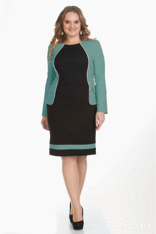 Платье Michel Chic 472 X зеленый