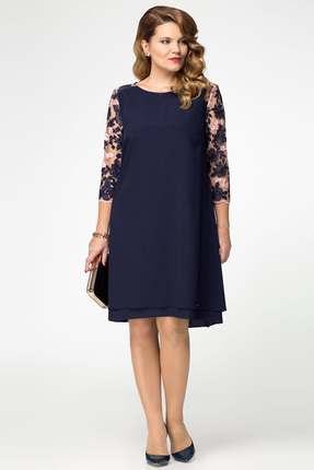 Купить со скидкой Платье Panda 396883 синий