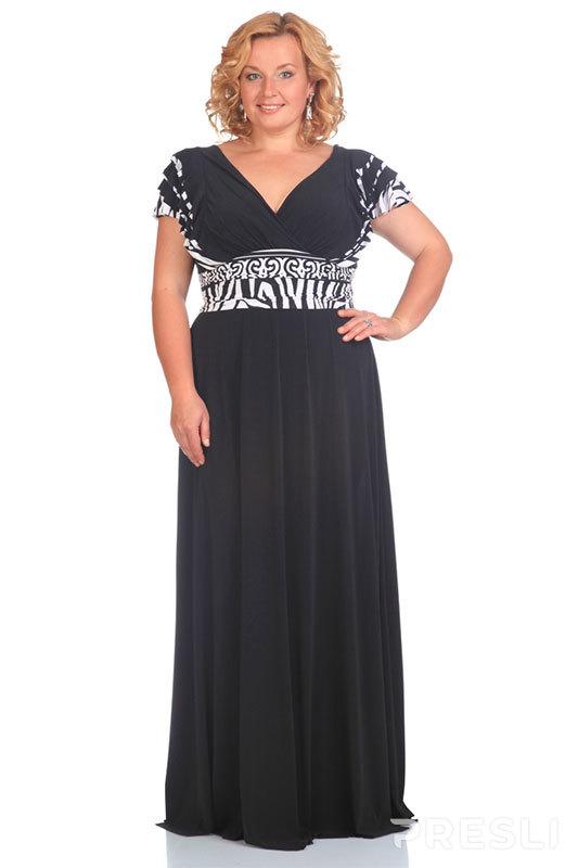 Платье Andrea Style 1146 черный