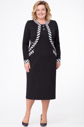 Платье Линия-Л Б-169 черный