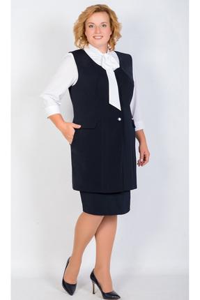Купить Комплект юбочный TricoTex Style 9517 д черный, Юбочные, 9517 д, черный, 70% п/э, 25% вискоза, 5% спандекс, Мультисезон