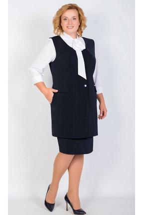 Купить Комплект юбочный TricoTex Style 9517 т черный, Юбочные, 9517 т, черный, 70% п/э, 25% вискоза, 5% спандекс, Мультисезон