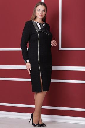 Купить Платье Michel Chic 910 черный, Платья, 910, черный, Состав: 60% полиэстер, 40% вискоза, Мультисезон