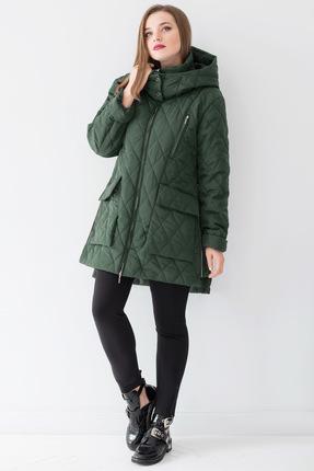 Купить со скидкой Куртка ЮРС 18-919-1 зеленый