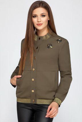 Купить Куртка LaKona 1104 хаки, Куртки, 1104, хаки, ПЭ 100%, Мультисезон