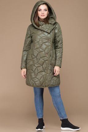 Купить Пальто Svetlana Style 1128 хаки, Пальто, 1128, хаки, ПЭ 100%, Мультисезон