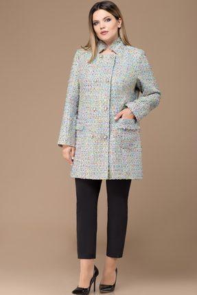 Жакет Svetlana Style 1129 голубой с цветным, Жакеты, 1129, голубой с цветным, ПЭ 100%, Мультисезон  - купить со скидкой