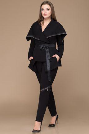 Комплект брючный Svetlana Style 1134 черный, Брючные, 1134, черный, ПЭ 71%+Вискоза 23%+Спандекс 6%, Мультисезон  - купить со скидкой