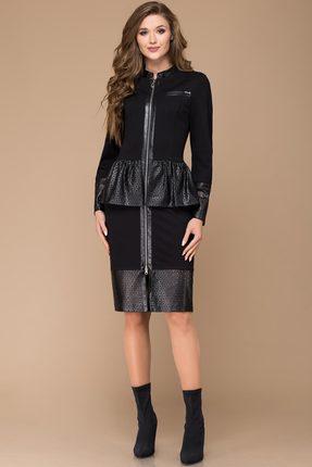 Купить Платье Svetlana Style 1133 черный, Платья, 1133, черный, Состав кожи: ПЭ 100% Вискоза 67%+Полиамид 28%+Спандекс 5%, Мультисезон