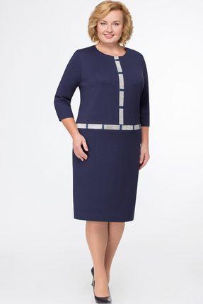 Купить Платье Svetlana Style 1003 темно-синий, Платья, 1003, темно-синий, ПЭ 95%+Спандекс 5%, Мультисезон